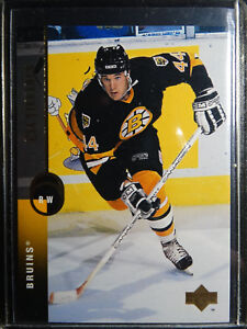1994-95-Upper-Deck-23-Glen-Murray-Boston-Bruins-Hockey-Error-Wrong-Name-Card