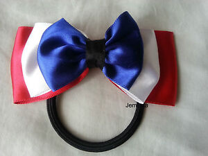 Jemlana-039-s-handmade-three-colors-triple-layer-satin-ribbon-hair-tie-for-girls