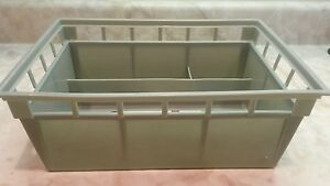 RECTANGULAR PLASTIC BASKET SCUNCI HEALTH AND BEAUTY STORAGE