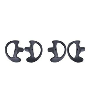 2Pcs-Replacement-Soft-Silicone-Earplug-Earbuds-For-Two-Way-Radio-S-M