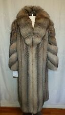 Maximilian At Bloomingdales Exquisite Crystal Fox Fur Coat XL Excellent Mint