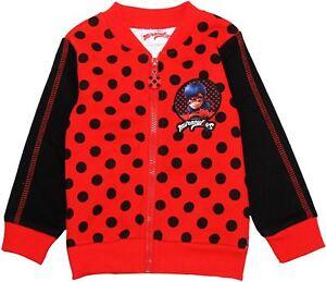 Dynamique Miraculeuse Coccinelle Filles Enfants Pois Pull Sweater-afficher Le Titre D'origine