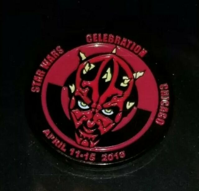 Star Wars Celebration Chicago 2019 Darth Maul Pin, Limited to 1000