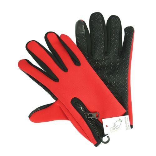 Winter Cycling Skiing Outdoor Gloves Touch Screen Waterproof Men Women Gloves