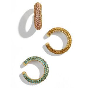 Fashion-Ear-Pave-Crystal-Gold-Clip-Cartilage-Earrings-Women-Rhinestone-Jewelry