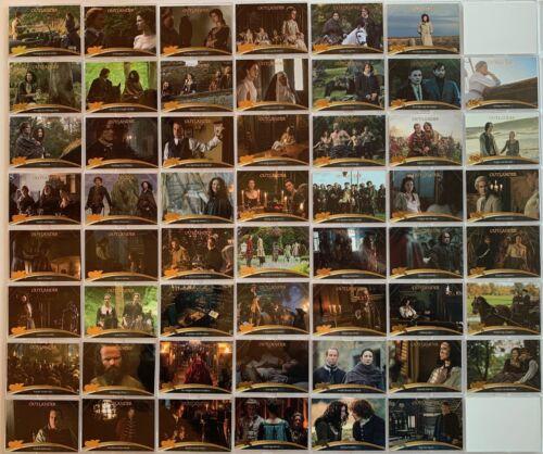 Outlander CZX Outlander Base Card Set 54 Cards Cryptozoic 2019