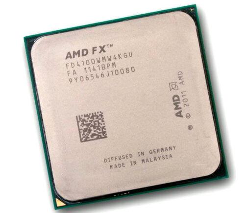 FD4100WMW4KGU AMD FX-4100 3.6GHz Quad-Core Processor