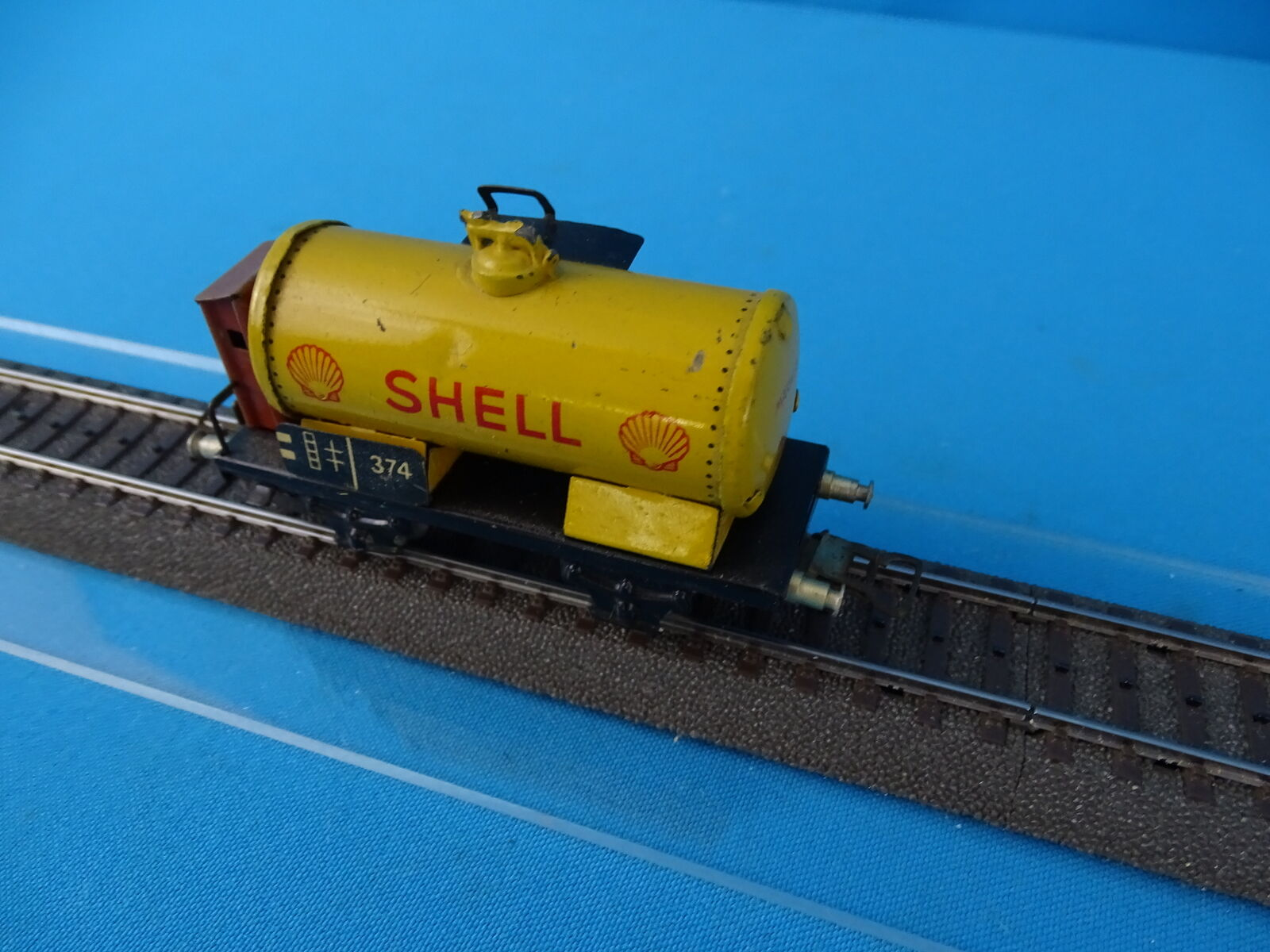 Marklin 374 S Tanker Car SHELL SHELL SHELL vers. 5 1939 9bf502