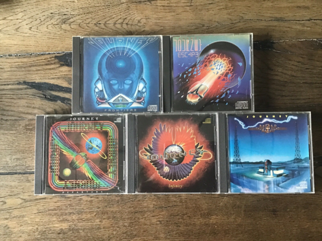 Journey: 5 x albums, pop,   5 flotte cd'er med Journey…