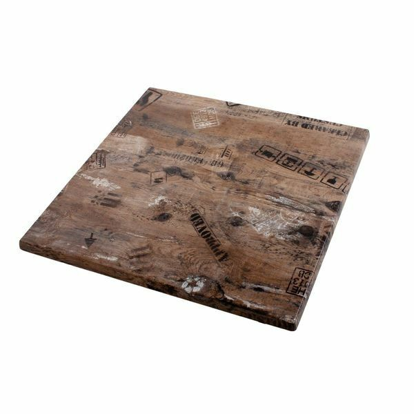Tischplatte Gartentisch Platte Tisch Garten Braun 70x70 Cm Ebay