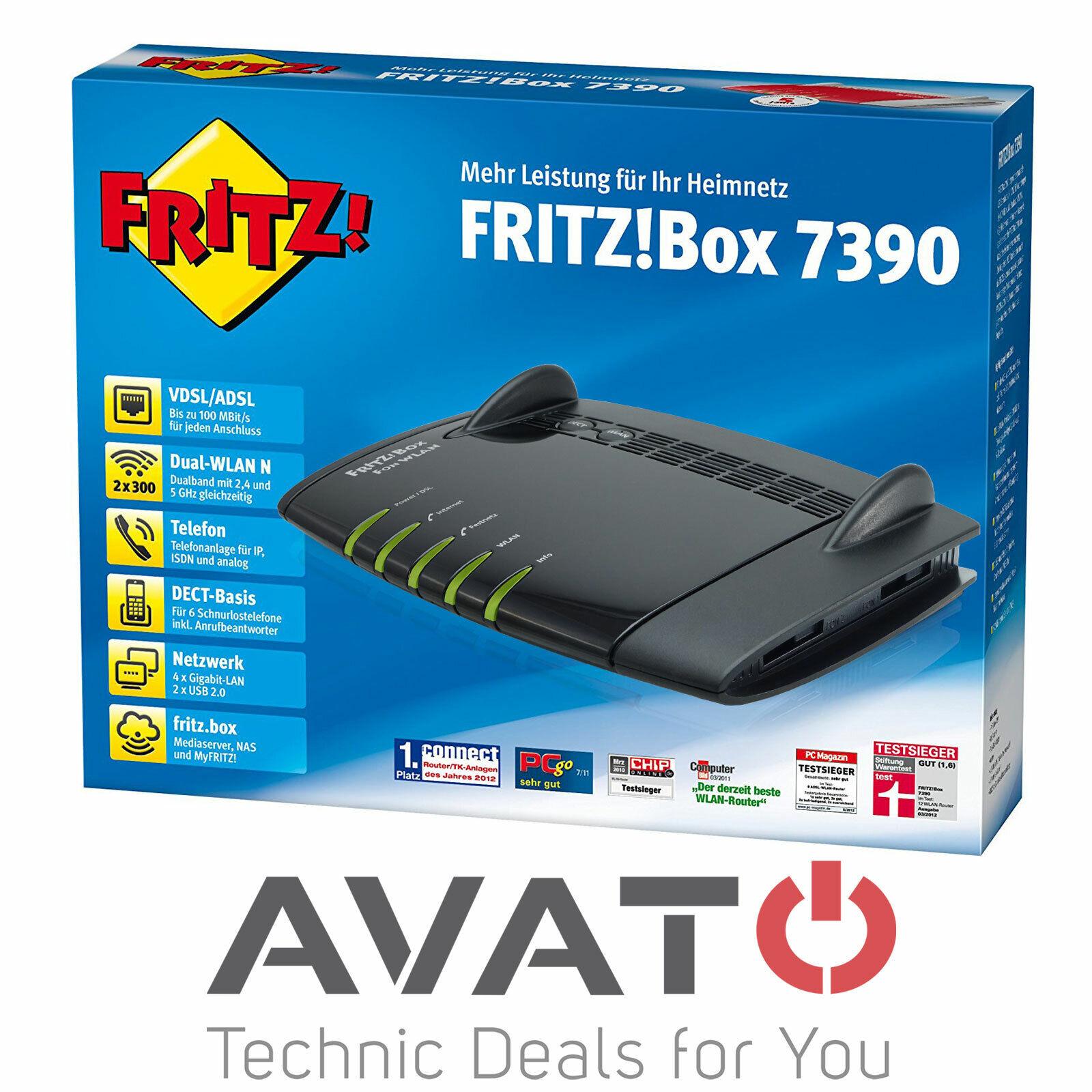 AVM FRITZBox 20 20 Mbps 20 Port 20 Mbps Verkabelt Router ...