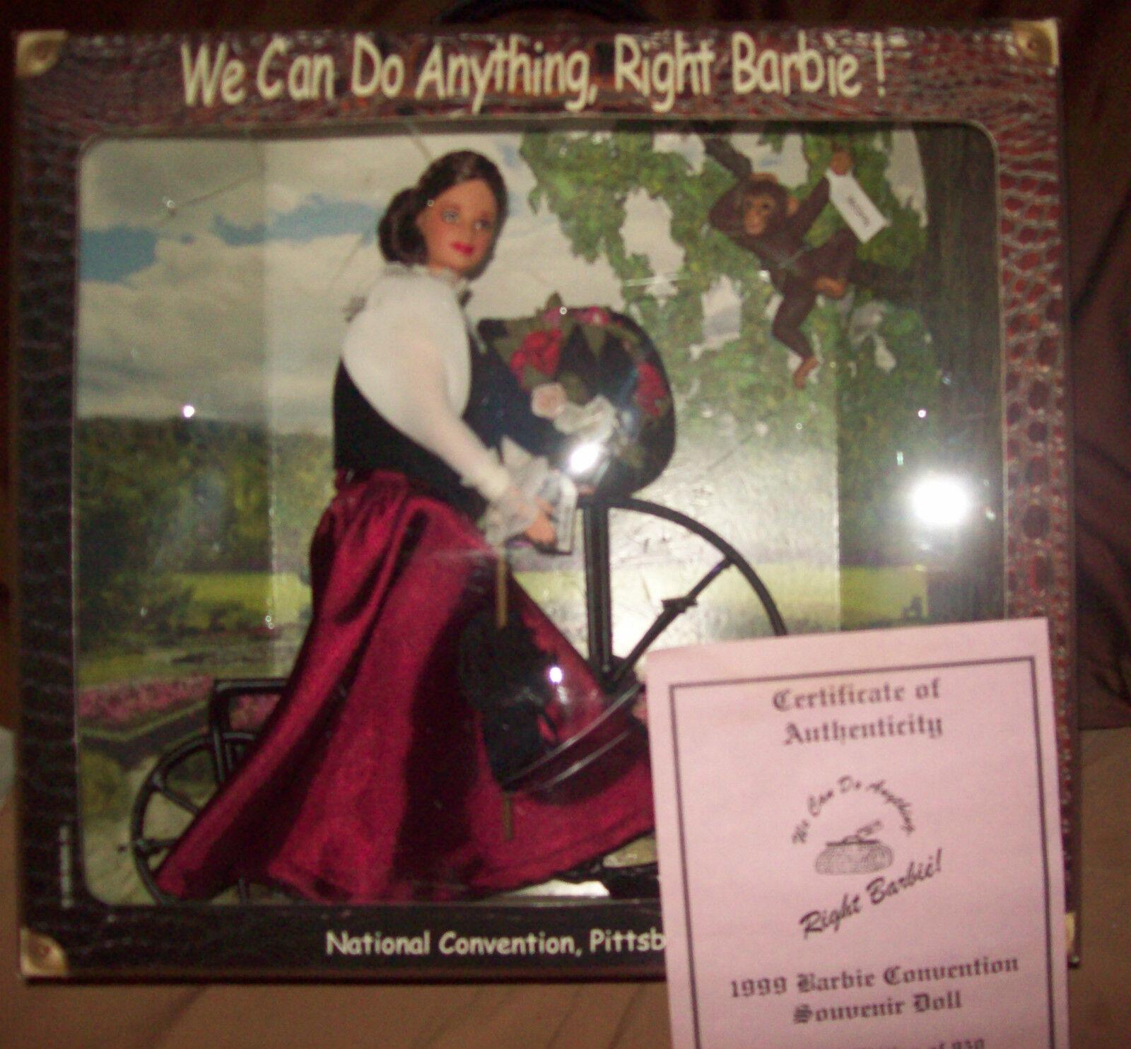 1999, las niñas pueden hacer nada bien Convención Nacional Barbie Mib