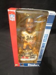 Jerome Bettis Pittsburgh Steelers 2006 Super Bowl 40 Bobblehead 5102/10,000