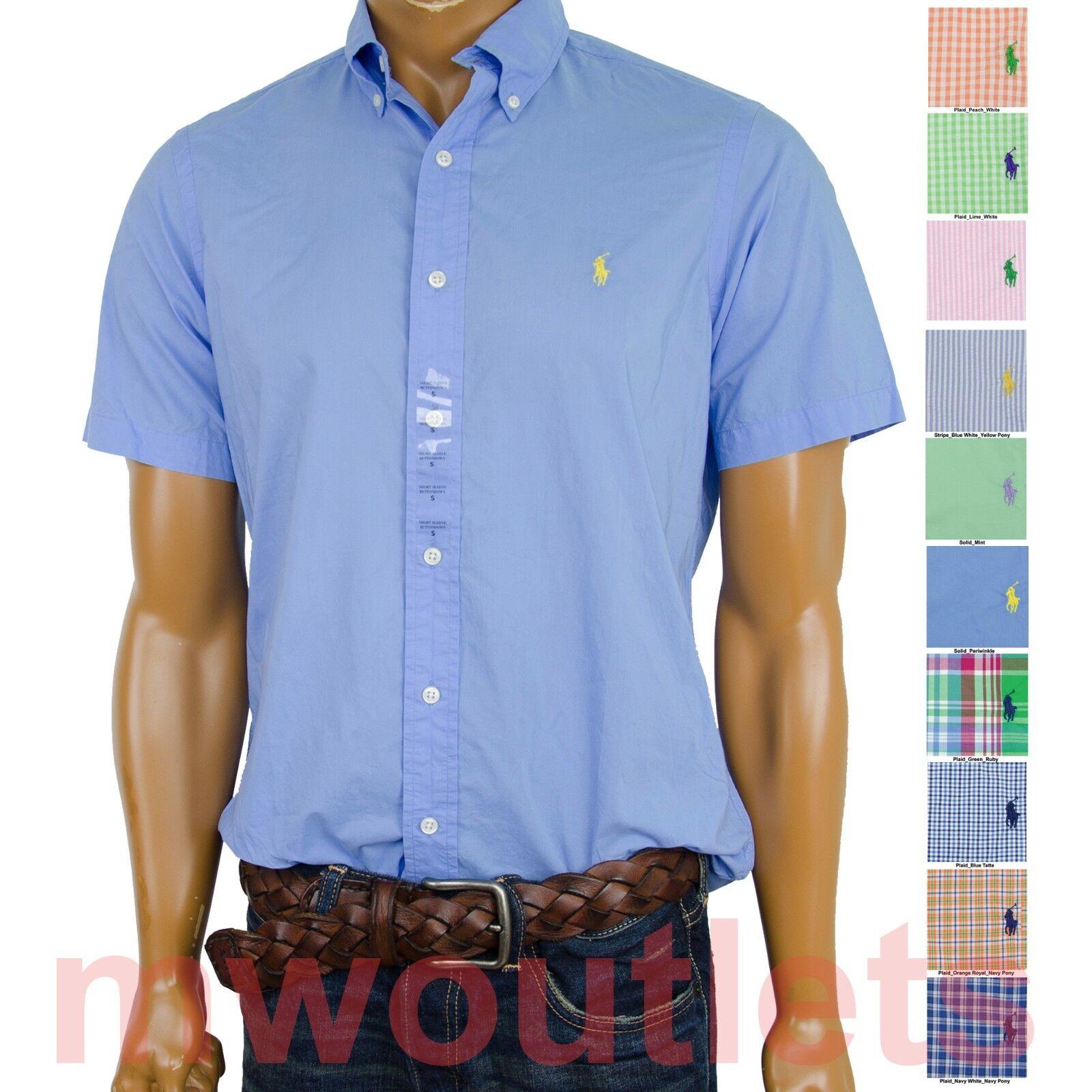 Polo Ralph Lauren MENS SHORT SLEEVE Standard Sport All Sizes
