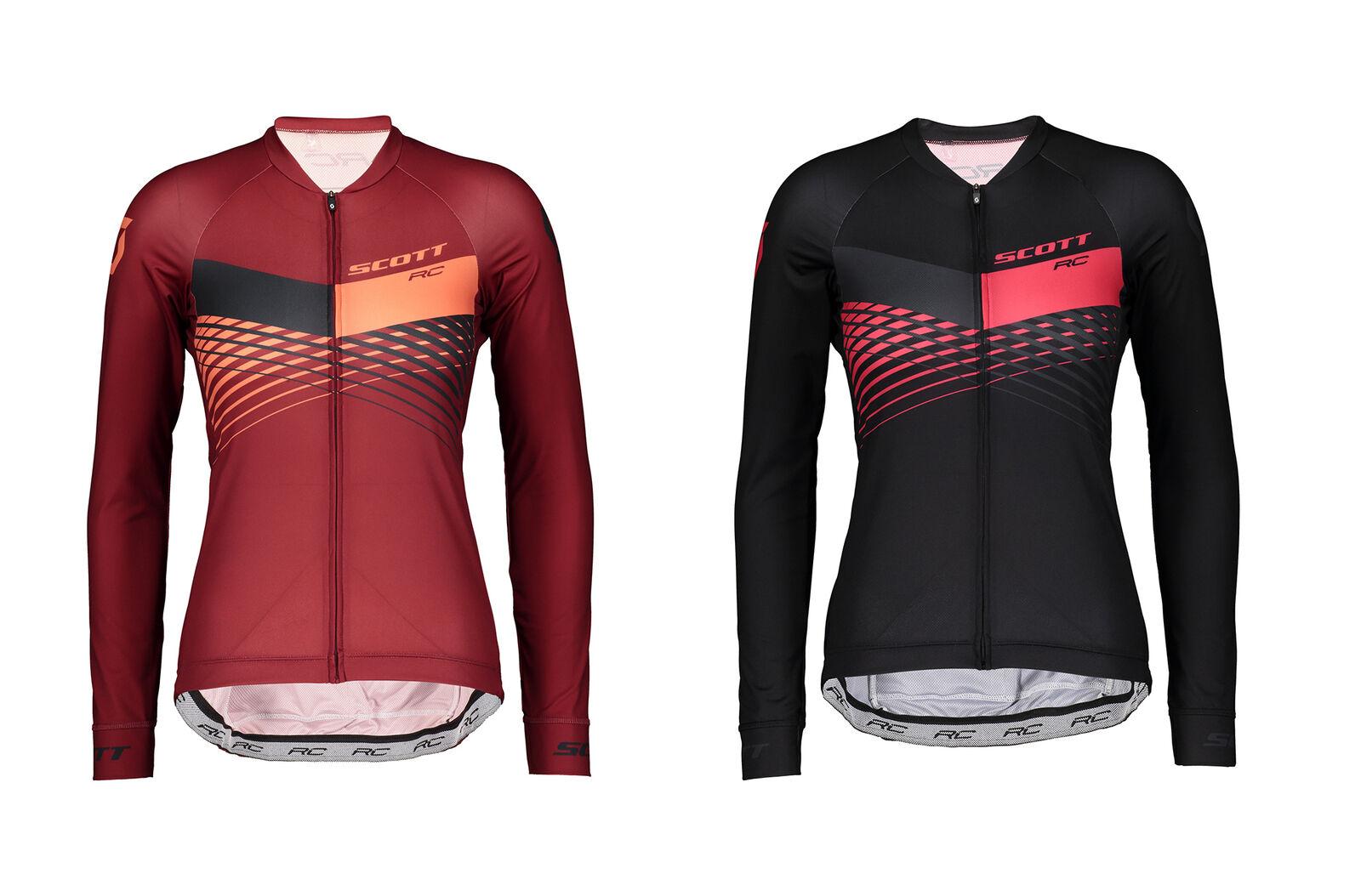 Scott RC pro Manga Larga Camiseta Mujer Malleta de Bicicleta  Culotte Camisa  garantizado