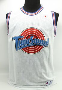 half off 12622 560db Details about Space Jam #23 Jordan Tunes Squad Champion White Basketball  Jersey - Adult Medium