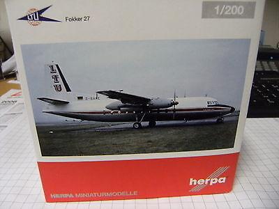 Herpa Wings 1:200 Fokker 27 ltu 557047