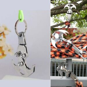 Multifunction-Stainless-Steel-Gravity-Hook-Foldable-Grappling-Climbing-Claw-Hot