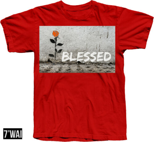 """/""""BLESSED/"""" SHIRT IN FOAMPOSITE /""""HABANERO RED/"""" COLORWAY RETRO 2018"""