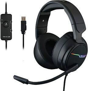 Auriculares cascos Gaming Premium acolchados con Microfono para PS4,PC THE G-LAB