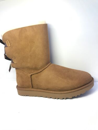 Uk mujer para Boot 8 Ii Bailey Ugg Chestnut Bow Xw0Sxqg