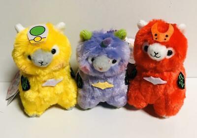 Complete Set Evapacasso Alpacasso Evangelion Toy Plush Mascot anime Japan F//S