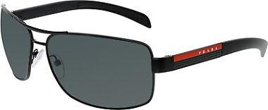 Prada Men's PS54IS-1BO1A1-65 Aviator Sunglasses