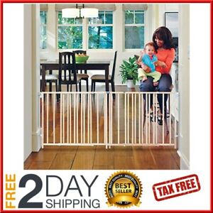 Extra Large Baby Dog Gate 5 6 7 8 9 Ft