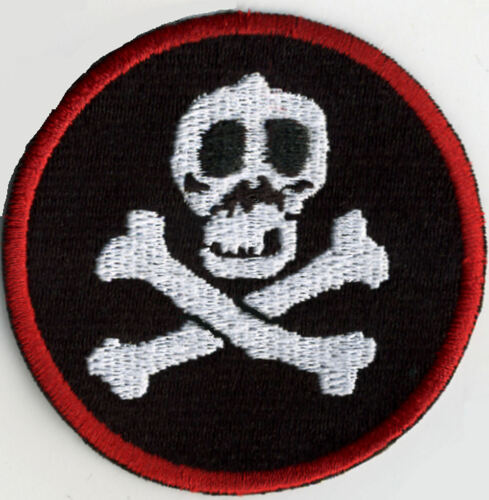 "Red Shadows aka /'The Enemy/' GI Joe Action Force 3/"" Embroidered Iron-on Patch"