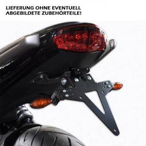 Motoryzacja: Części Kawasaki ER 6 Kennzeichenhalter ER6 N/F ab Bj 2012 mit Beleuchtung
