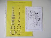 Alize Regulator Cousteau Calypso O-ring Kit Repair 1 And 2 Stage Original