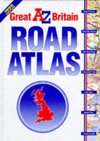 A-Z ROAD ATLAS OF GREAT BRITAIN, unknown, Used; Very Good Book