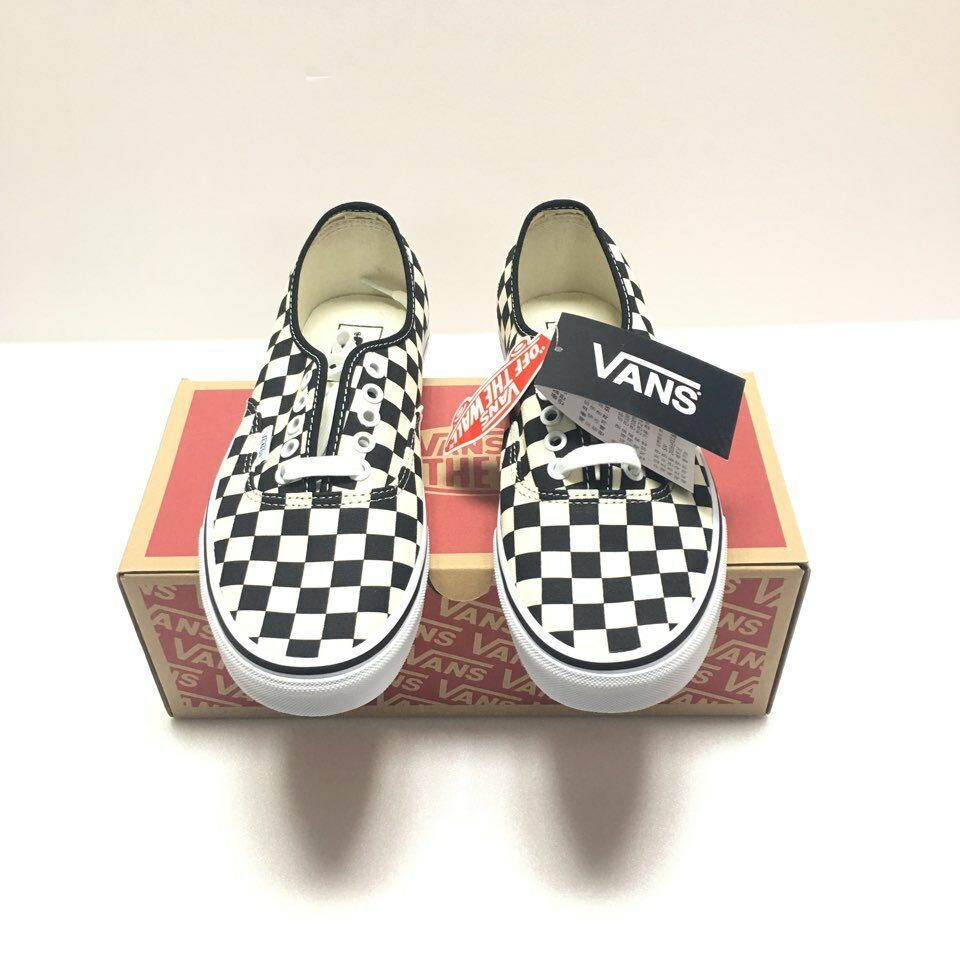 Vans Authentic golden Coast Checkerboard 8.5 limited Classic100% AUTHENTIC