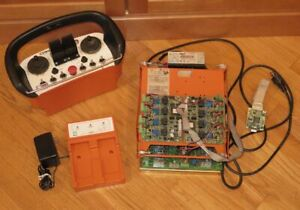 Ikusi TM60 Series Machine Crane Remote Control with TM60/4.18 Receiver Panel