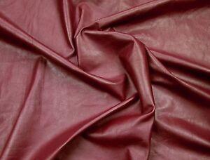 Brillant Magenta Vachette Pour Leathercraft Petits Morceaux. Barkers Hide & Leather Skins N269-afficher Le Titre D'origine Top PastèQues