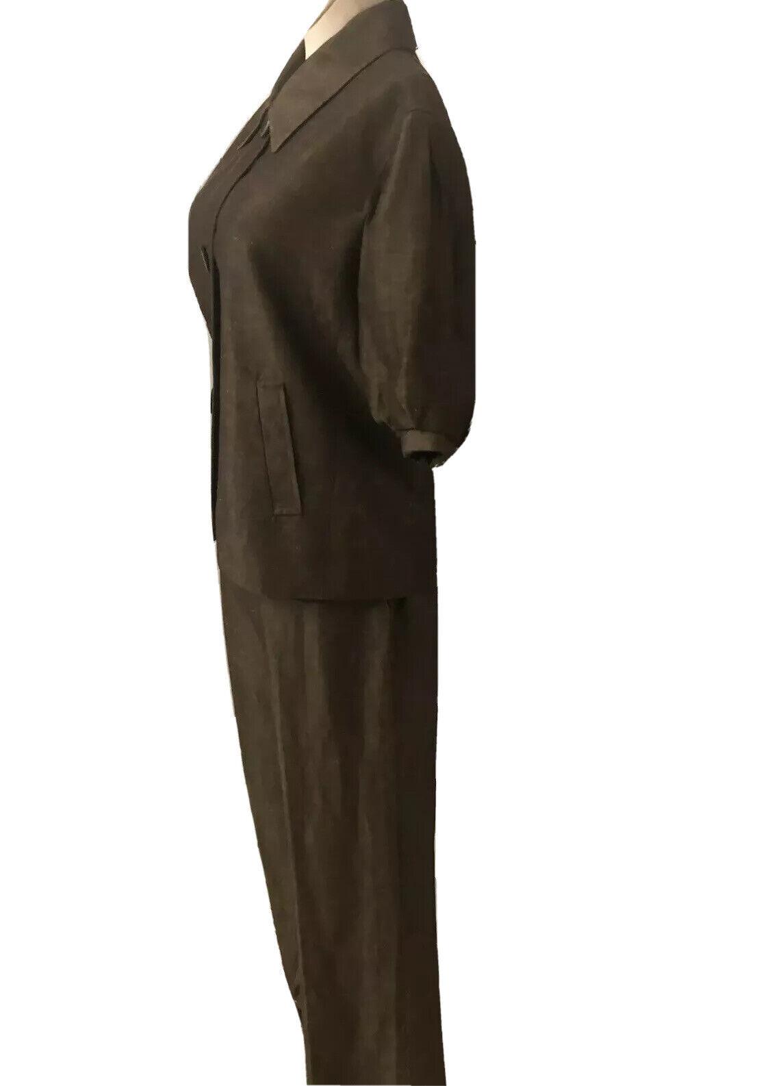 Lafayette 148 New Linen/Wool Blend Pant Suit Size… - image 4
