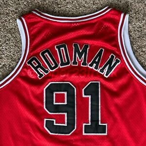 8dc1c3b4a Image is loading VINTAGE-NIKE-AUTHENTIC-DENNIS-RODMAN-CHICAGO-BULLS-NBA-