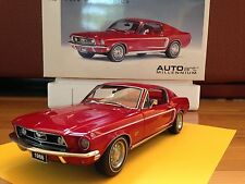 AUTOart 1:18 1968 Ford Mustang GT - Very Rare !!!