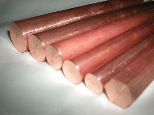Tellurium-Copper-Rod-C109-Grade-3-8-034-Dia-x-150mm-Long