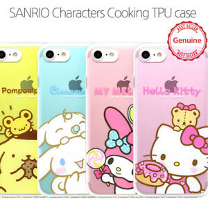 newest 660ac 50705 Details about Genuine Hello Kitty Friends Cooking Jelly Case iPhone 6/6S  Case iPhone 6/6S Plus