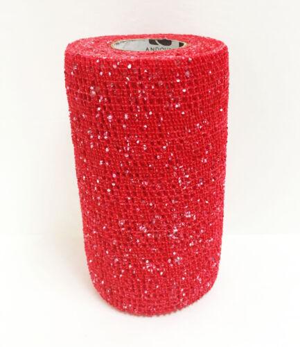 "4/"" 4x10cm Fascia Glitter-Powerflex coesiva Bandage"