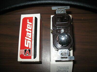 1 NIB SLATER 5362-AG-GY 5362-AGGY RECEPTACLE 20A 125V 20 AMP 125 VOLT