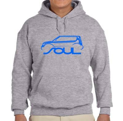 Kia Soul Car Design Hoodie Sweatshirt FREE SHIP