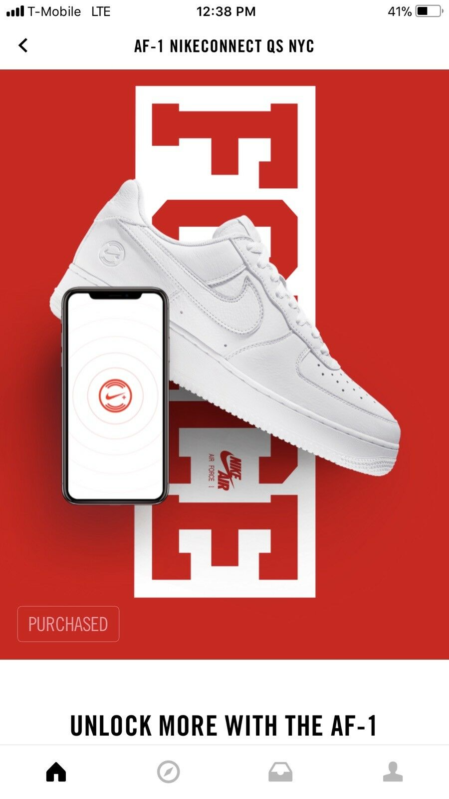 NIKE AF1 NikeConnnect QS NYC  Cheap and fashionable