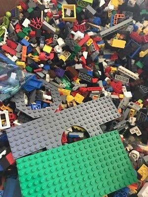 5 lbs. 200 Duplo Lego pieces Random pieces
