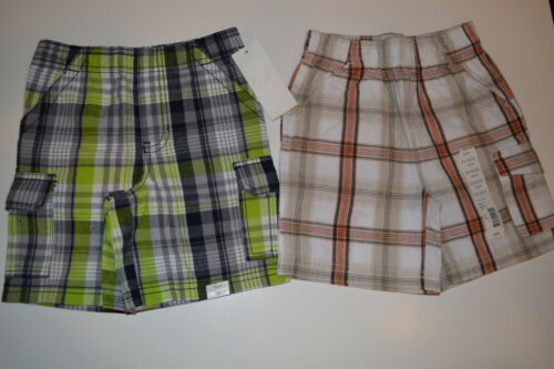 Tough Skins Infant Toddler Boys Plaid Shorts Various Sizes /&Colors NWT