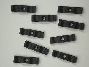 Clapier TOURNER BOUTONS en Noir-En Vrac Pack de 50 Complet Avec E-GALV Vis-afficher le titre d`origine qYfyTYBA-07183328-350430481