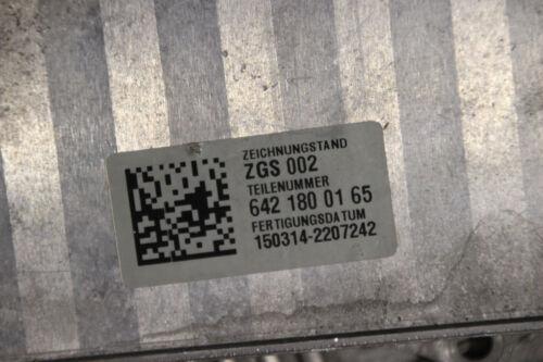 Mercedes Benz OM642 320CDI V6 Ölkühler Kühler Wärmetauscher A6421800165