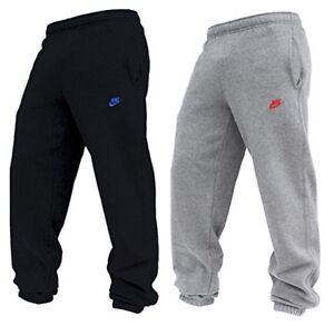 Image is loading New-Men-039-s-Nike-Fleece-Joggers-Tracksuit- 70cd3ef48bd5