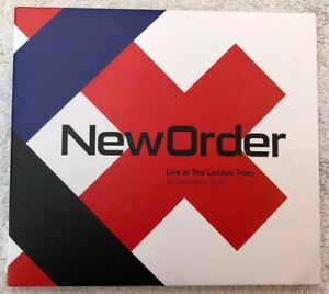New Order - Live At The London Troxy - Double CD - Live Here Now - 2011